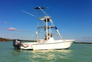 Captain Dave Perkins - Mako Offshore Fishing Boat