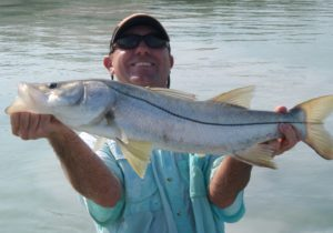 Leaping out of the boat for Snook 3