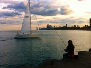 Salmon Fishing in Chicago: Who Knew?