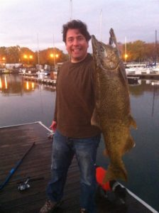 Geoff's First Chicago King Salmon