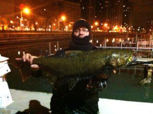Me with a Late Season King Salmon
