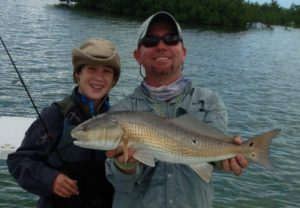 redfish - fishing charters - Tavernier - backcountry