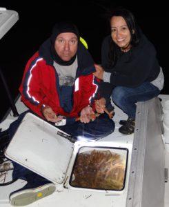 shrimping - Tavernier - backcountry - fishing guide