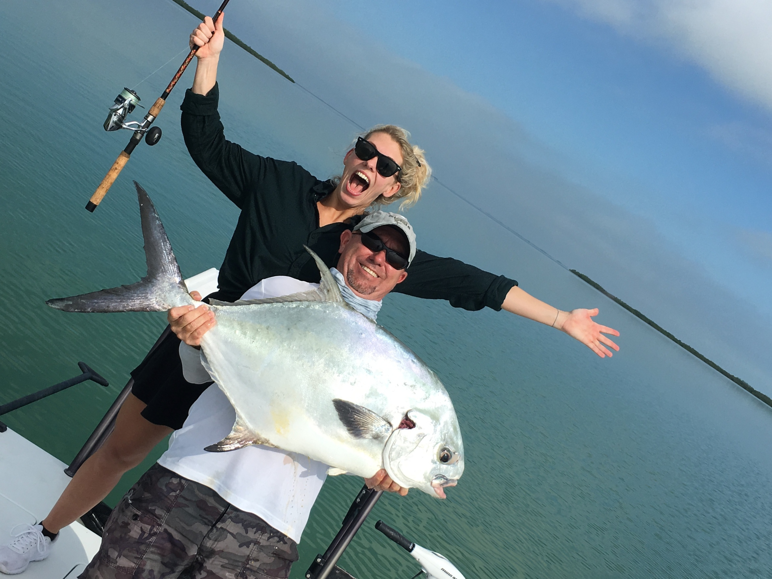flats fishing - permit - everglades - fishing charters