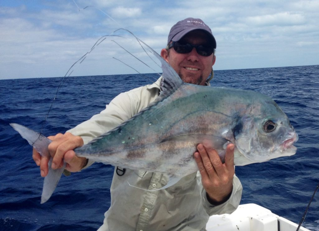 African pompano offshore fishing islamorada 2002 for Captain dave s fishing