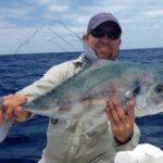 African Pompano - offshore fishing - islamorada - 2002