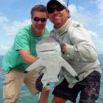 Backcountry fishing - shark - tavernier - 2015