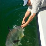 Catch and release - permit - women fishing - 2016