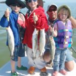 Catching fish - sea trout - kids fishing - tavernier - 2010