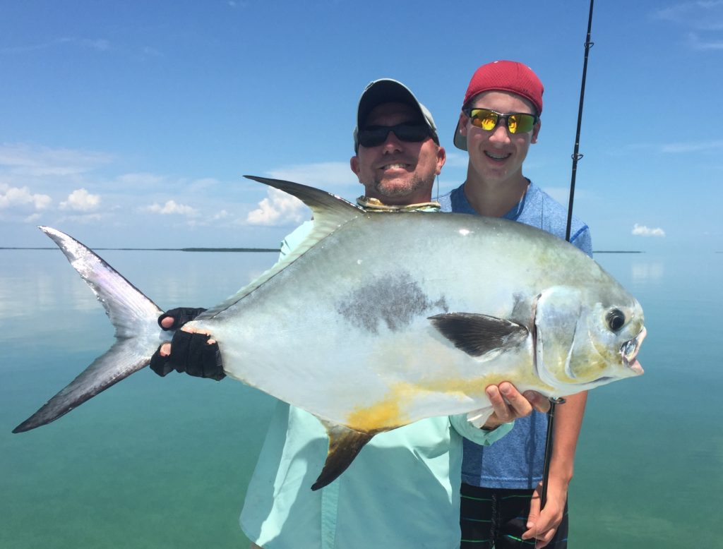 Flamingo - permit - kids fishing - 2013