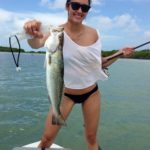 Flats fishing - bikinis - key largo - trout - 2009