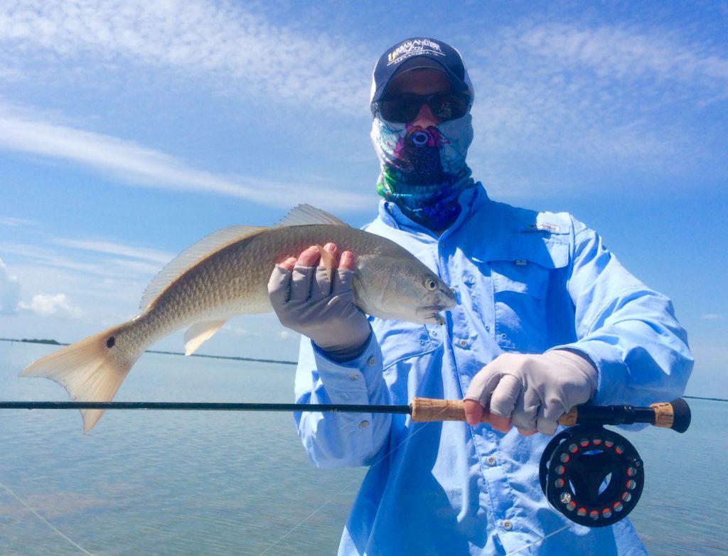 Fly fishing - back country fishing - key largo - redfish - 2014