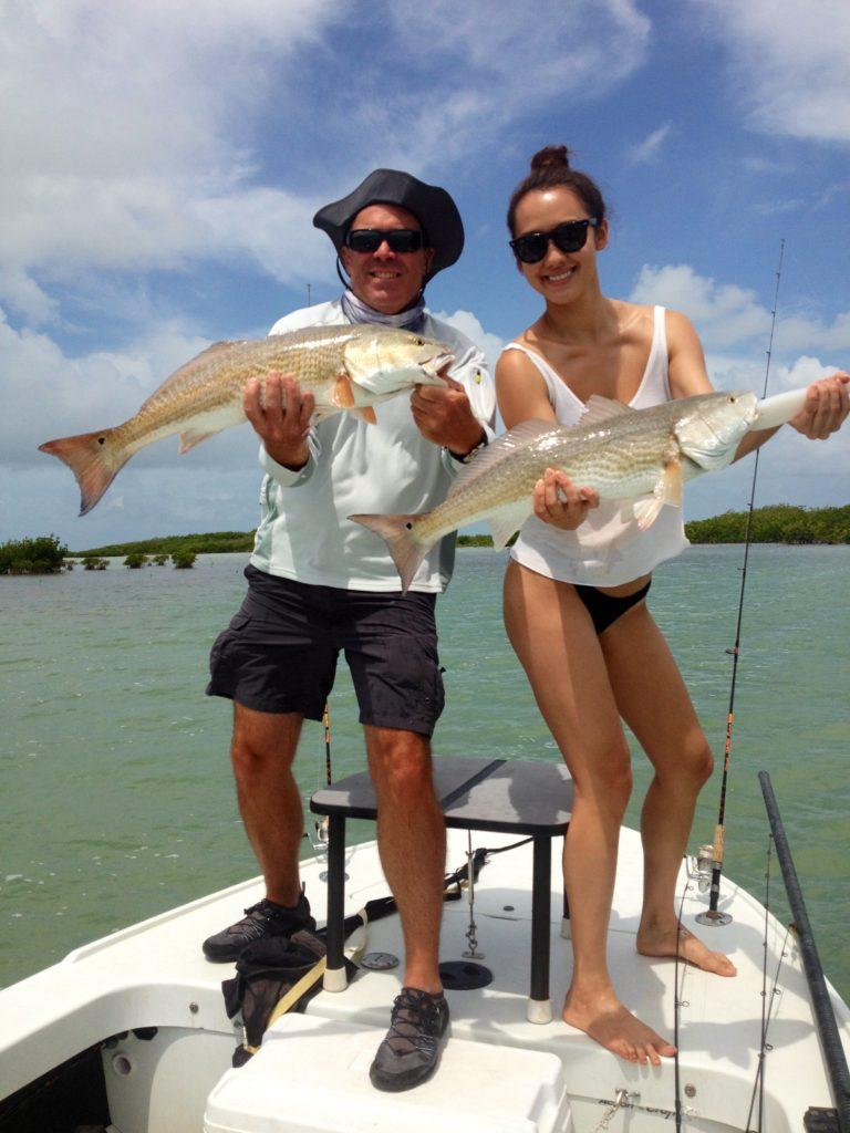 Key Largo - girls who fish - flats fishing- 2009