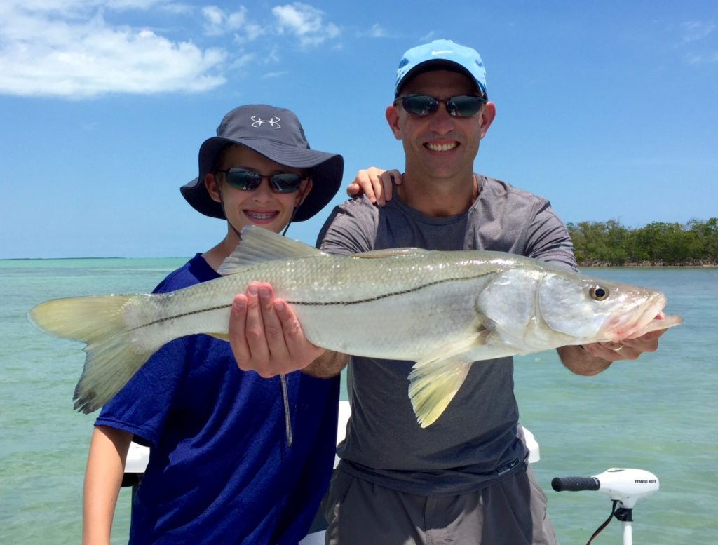 Key Largo Backcountry Fishing Snook 2016