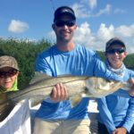 Kids fishing - snook - backcountry - 2007