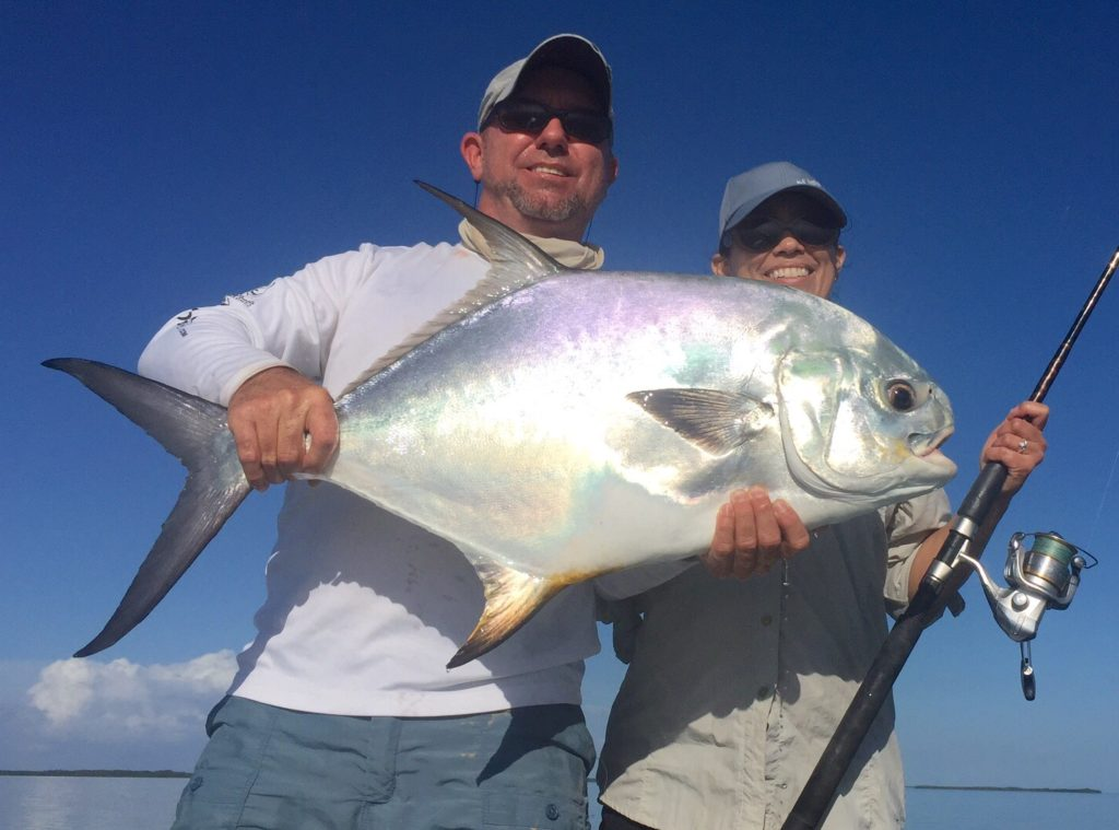 Sight fishing- female anglers - permit - 2016