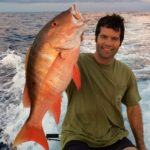 Trophy fish - mutton snapper - key largo - 2013