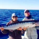 Wahoo - highspeed trolling - deep sea fishing - key Largo- 2012