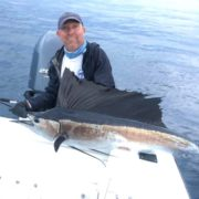 Unwrapping & Unhooking a Sailfish - Captain Dave Perkins - Tavernier, FL